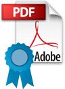 Signed Adobe PDF icon